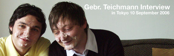 Gebr. Teichmann Interview