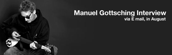 Manuel Gottsching Email Interview